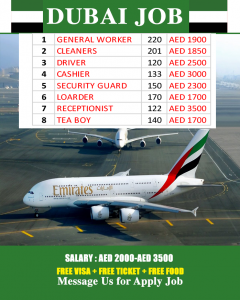 HOW TO GET JOB IN DUBAI 2020