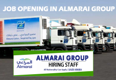 Almarai career in Dubai